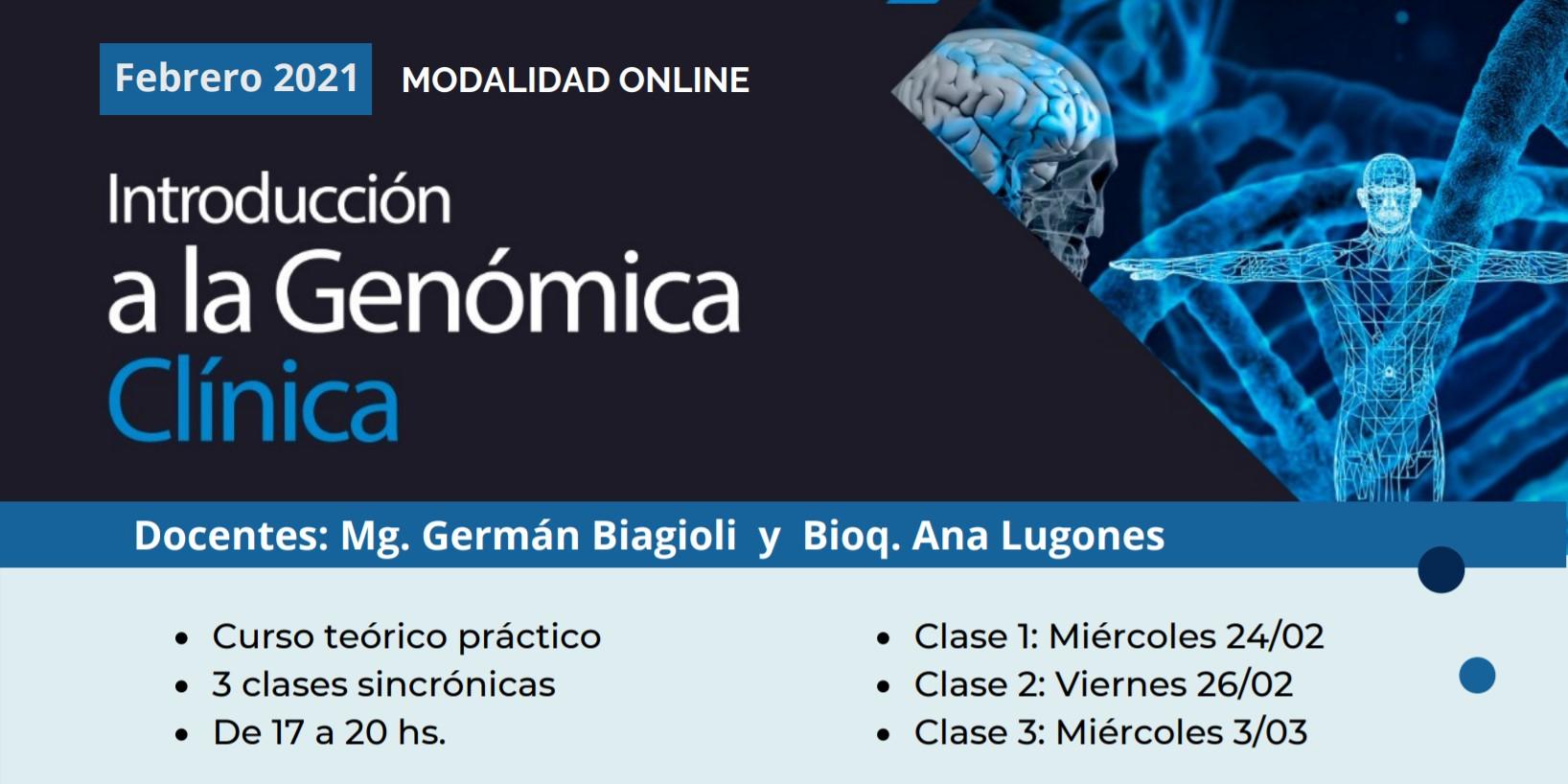 Curso de Posgrado Introducción a la Genómica Clínica