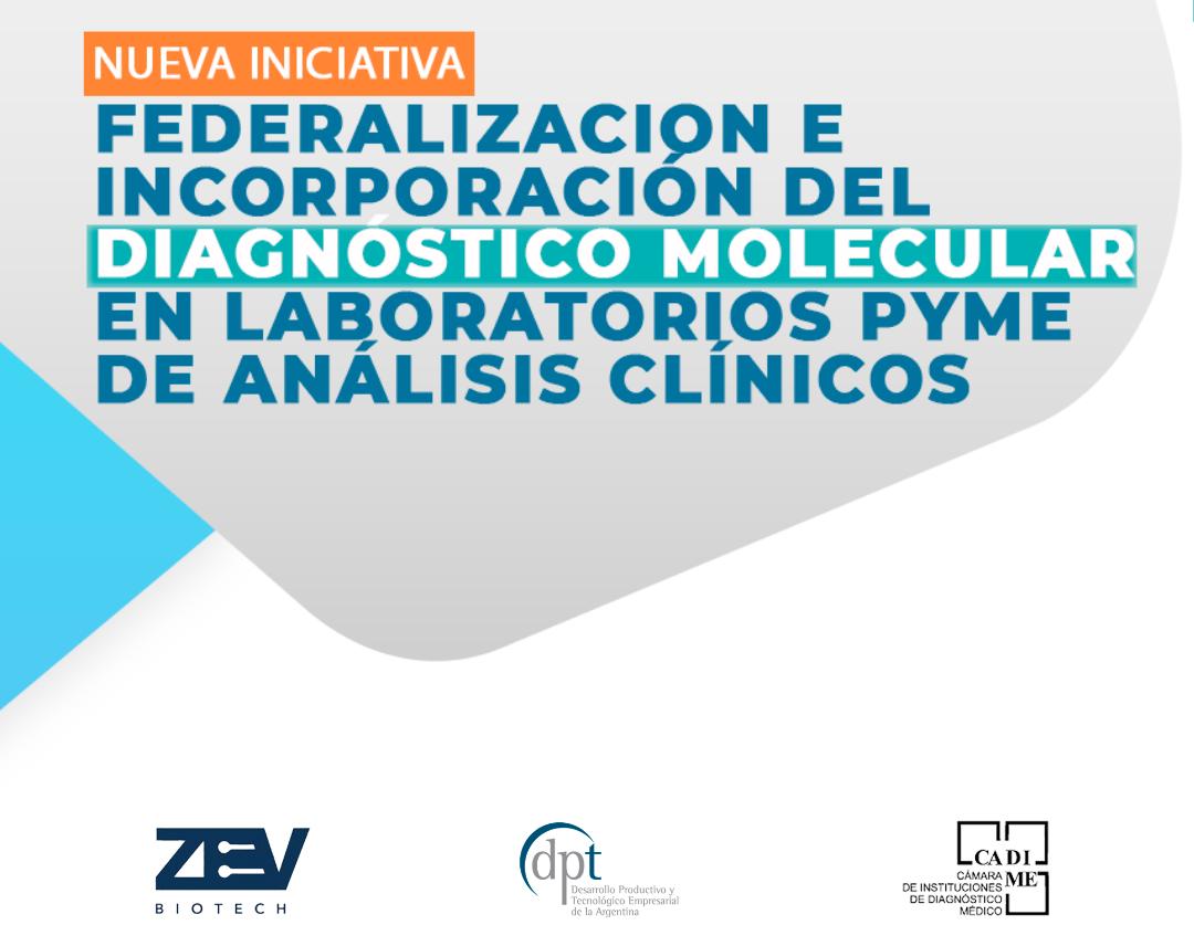 Capacitación Teórico - Práctica a través de la Tecnología Desarrollada por Zev Biotech: Diagnóstico Molecular Genómico ADN/ARN para laboratorios.
